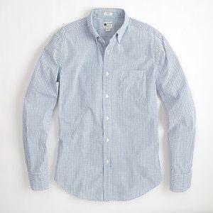 J. Crew cotton button-down collar shirt